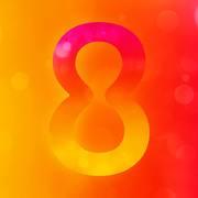 8 Flight Logo, die Firma 8 Flight ist in Japan den Hit mit den Spielern PAUL LIM, MITSUMASA HOSHINO, KEITA ONO und HARUKI MURAMATSU