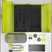 Target Darts 975 SWISS Point 97,5% Tungsten Verpackung Musterbild Inhalt variiert natürlich!