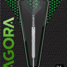 Target Steel Darts Agora A05 SWISS Point 90% Tungsten 2019 Steeltip Darts Steeldart 2019 / Verpackung