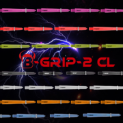 BULL'S Dart B-Grip-2 CL Shaft Polycarbonat Shäfte 7 Farben & 4 Längen