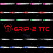 BULL'S Dart B-Grip-2 TTC Shaft Polycarbonat Shäfte 5 Farben & 4 Längen