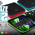 Harrows Blaze PRO 12 Darttasche Dartcase Dartbox Wallet in verschiedenen Farben