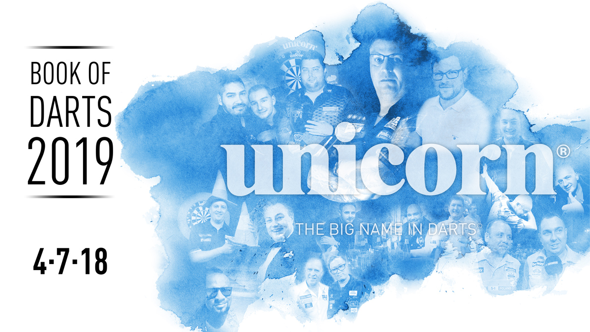 unicorn Sortiment ab 04.07.2018 / 2019 NEU im Handel unicorn Book of Darts 2019