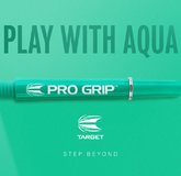 Target Pro Grip Shaft mit Aluminium Ring Aqua Neu 2018