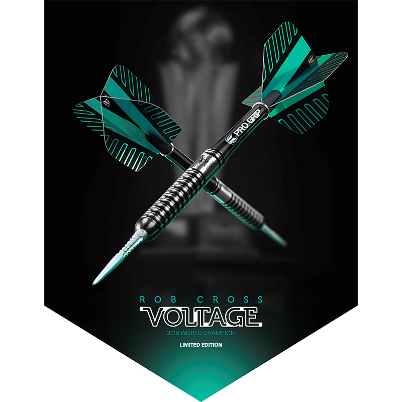 Target Rob Cross Voltage World Champion 2018 Steel Darts Limited Edition 2018