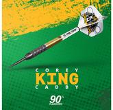Target Corey Cadby King Steel Darts Steeltip 21 g und 23 g 2018 Art.Nr. 100481, 100482