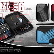 Harrows Dart Blaze Fire Pro 6 Dart Case Dartbox Wallet 2020