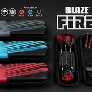 Harrows Dart Blaze Fire Dart Case Dartbox Wallet 2020