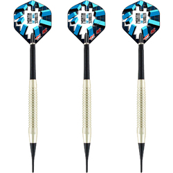 BULL'S Soft Darts Bull´s powered by Shot Darts Martin Schindler The Wall Nickel Silver Softtip Darts Softdart