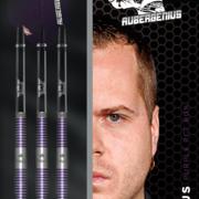 BULL'S NL Steel Darts Dirk van Duijvenbode Aubergenius The Titan 80% Tungsten Steeltip Darts Steeldart 22-23-24 g