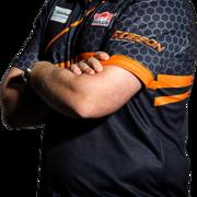 BULL'S NL Darts Team Player Dirk van Duijvenbode Aubergenius