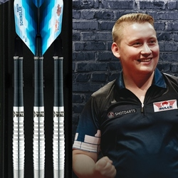 BULL'S Soft Darts Bull´s powered by Shot Darts Martin Schindler The Wall 70% Softtip Darts Softdart Verpackung
