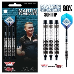 BULL'S Soft Darts Bull´s powered by Shot Darts Martin Schindler The Wall Match Darts 90% Softtip Darts Softdart Gesamt