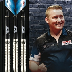 BULL'S Steel Darts Bull´s powered by Shot Darts Martin Schindler The Wall 70% Steeltip Darts Steeldart Verpackung