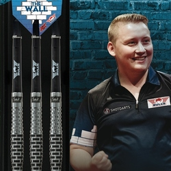 BULL'S Steel Darts Bull´s powered by Shot Darts Martin Schindler The Wall Match Darts 90% Steeltip Darts Steeldart Verpackung
