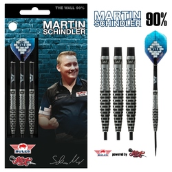 BULL'S Steel Darts Bull´s powered by Shot Darts Martin Schindler The Wall Match Darts 90% Steeltip Darts Steeldart
