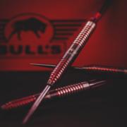 BULL'S NL Steel & Soft Darts Phantom Grip Red 90% Tungsten Steeltip Softtip Darts Steeldart Softdart 2020