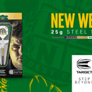 Target Steel Darts Corey Cadby King 2018 Steeltip Darts Steeldart 25 g Neues Gewicht Target Launch Dezember 2018