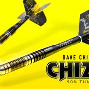 Harrows Steel Darts Dave Chisnall Chizzy 90% Tungsten Steeltip Dart Steeldart Banner