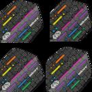 Unicorn Ultra Fly 75 Code DNA Flights verschiedene Flightformen