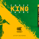Target Steel Darts Corey Cadby King 2018 Steeltip Darts Steeldart 25 g Neuer Target Dart Launch 7 December 2018
