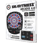 Carromco Smartness Elektronik Dartboard Smart Connect Arcadia 4.0 Scoring per App