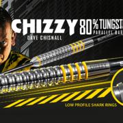 Harrows Steel Darts Dave Chisnall Chizzy 80% Tungsten Steeltip Dart Steeldart 2020