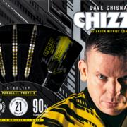 Harrows Steel Darts Dave Chisnall Chizzy 90% Tungsten Steeltip Dart Steeldart Verpackung