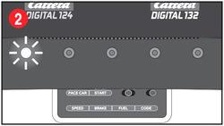 Carrera Digital 124 /132 Control Unit Erste LED leuchtet Bild 2