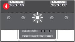 Carrera Digital 124 /132 Control Unit Programmier Bestätigungs LED leuchtet Bild 4