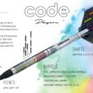Unicorn Soft Darts Code Chris Dobey 90% Tungsten Softtip Darts Softdart 2020 20 g