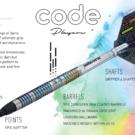Unicorn Soft Darts Code Jeffrey de Zwaan 90% Tungsten Softtip Darts Softdart 2020 22 g