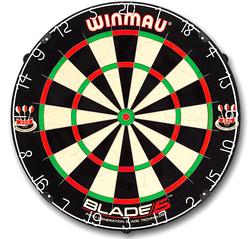 Winmau Blade 5 Bristle Dart Board - Turnierboard