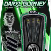 Winmau Steel Darts Daryl Gurney Black Special Edition 90% Tungsten Steeltip Dart Steeldart 2020 23g - 25g Verpackung