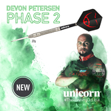 Unicorn CONTENDER Devon Petersen Phase 2 Steel Dart Steeldart 2018 22 g