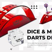 BULL'S NL Darts Display Stand Dartständer Moon 12 Darts - Dice 3 Darts