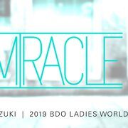 Mikuru Suzuki, ihr Spitzname lautet Jadeite Womens BDO Weltmeisterschaft Siegerin 2019
