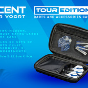 Winmau Vincent Van der Voort Tour Edition Case Wallet Darttasche Dartbox