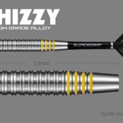 Harrows Soft Darts Dave Chisnall Chizzy Brass Tungsten Look Softtip Dart Softdart 2020