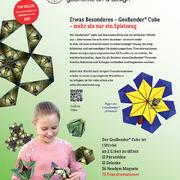 GeoBender® Cube Würfel magnetisches 3D-Puzzle