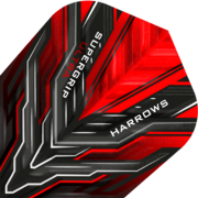 Harrows Supergrip Ultra Dart Flight Dartflight speziell laminiert Rot