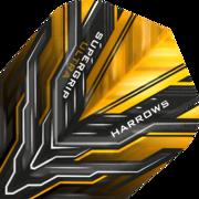 Harrows Supergrip Ultra Dart Flight Dartflight speziell laminiert Gold