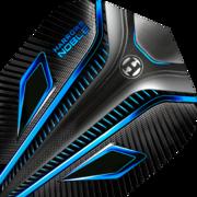 Harrows Noble Dart Flight Dartflight speziell laminiert Aqua