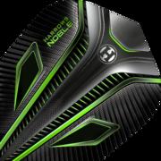 Harrows Noble Dart Flight Dartflight speziell laminiert Grün