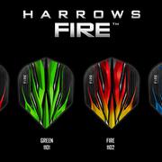 Harrows Dart Fire Flights Dartflights