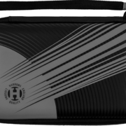 Harrows Blaze Pro 6 Fire Dart Case Darttasche Dartcase Dartbox Wallet Schwarz