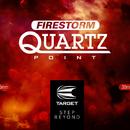 Target Steel Tip FIRESTORM Dart Wechsel- Spitzen Titanium Point Gold / Silver Quartz 26 mm und 30 mm