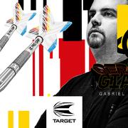 Target Dart Team Player Gabriel Clemens The German Giant Steldarts und Softdarts Neuheit 2020