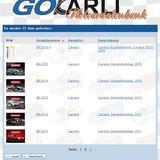GOKarli Slotcardatenbank Carrera Kataloge Folder Ersatzteillisten