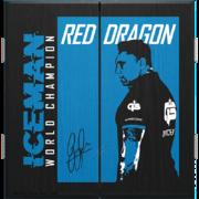 Red Dragon Gerwyn Price Iceman World Champion Edition Cabinet Dart Schrank 2021